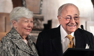 Milton Maltz & Mrs. Maltz - founders of Maltz Research Labs