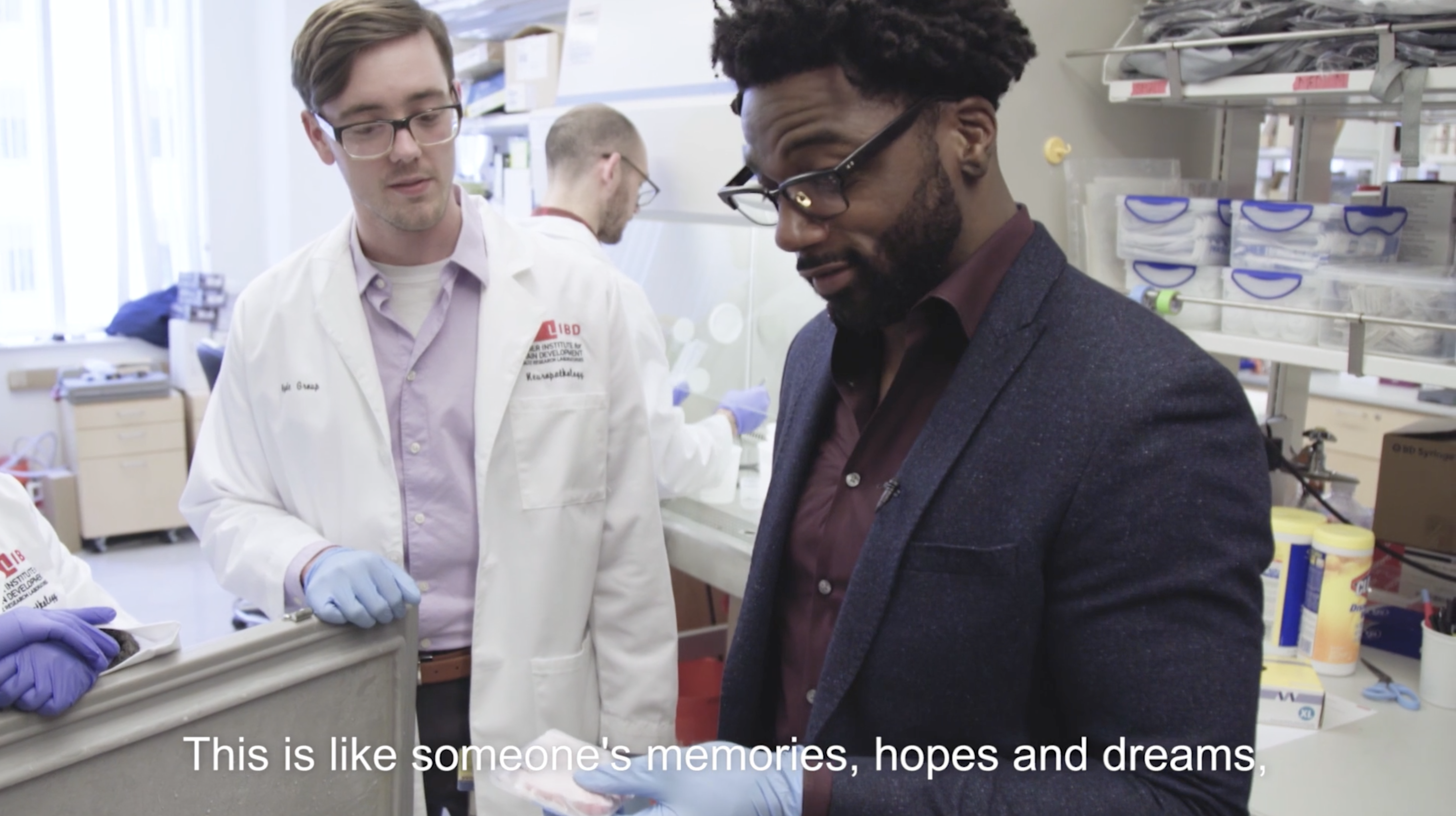 Former NFL Player Donté Stallworth Talks Concussions at the Lieber Institute